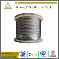 Cheap 8*19W steel wire rope, elevator wire rope for sale