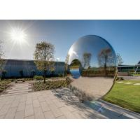 Quality Morden Highly Polished Stainless Steel Sculpture Torus For Lawn Featuring wholesale