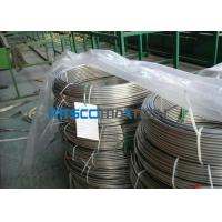 Cheap ASTM A213 Stainless Steel Coiled Tubing 1.4404 / 1.4306 / 1.4407 For Gas Industry for sale