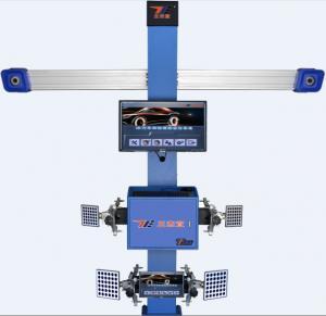 Cheap Double Monitor 533cm Wheelbase T258+ 3D Car Wheel Aligner 11'' rim for sale