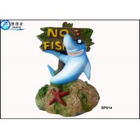 Cheap No Fishing Mark Cute Modern Fish Tank Ornaments Aquarium Resin Decorations with Dolphins for sale