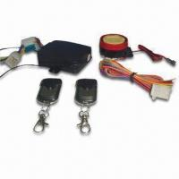 Cheap Motorcycle Alarm with Engine Start and LED Status Indicator for sale
