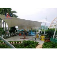 Cheap Steelwork Stretching Tensioned Membrane Structures For Playground Sunshade Shed wholesale