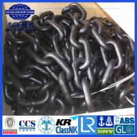 Cheap 6~50mm BM1 BM2 BM3 Black Painted studless Anchor Chain with certification for sale
