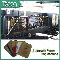Cheap Flat Bottom Pasting Paper Bag Forming Machine Which Can Pack 50Kg Cement wholesale