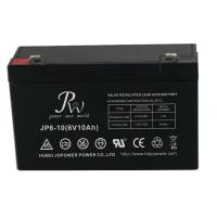 Cheap Lead Acid Alarm System Battery 6V 10AH , VRLA Batteries For Fire Alarm Systems for sale