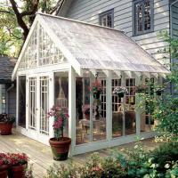 Cheap Sound Insulation Glass Enclosed Sunroom With Double Glazing Grain Transfer Printing for sale