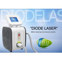 Cheap 808 nm Permanent Diode Laser Hair Removal Machine Comfortable Pain Free for sale