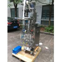 Cheap Automatic Honey Sachet Packing Machine , Soy Sauce Packaging Machine Easy Operate for sale