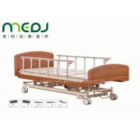 Cheap Wooden Head Clinic / Hospital Patient Bed MJSD04-03 Electric Control for sale