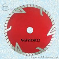 Cheap Continuous Rim Deep Drop Knife-segmented Turbo Saw Blade for Concrete - DSSB21 for sale