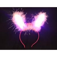 China Bink Fiber Lights Up Bopper / Flashing Headwear For Promotion Gifts, Party Decoration oem on sale