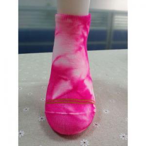 China Custom logo, design acrylic knitted 3D low-cut socks on sale