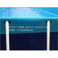 China European good quality Outdoor Metal Frame Pool,Above Ground Swimming Pool on sale