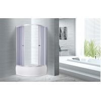 Buy cheap 900x900x2100mm Quadrant Shower Enclosure 4mm Tempered Smoke Glass from wholesalers