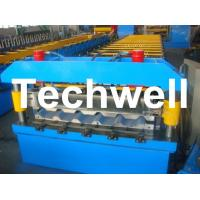 Cheap Metal Trapezoidal Roof Panel Roll Forming Machine for Making Trapezoidal Roof Panel for sale