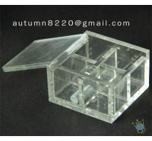 Cheap BO (6) acrylic storage box for sale