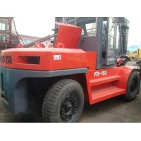 Cheap used Toyota 15 ton forklift, fd150 lowest price ,Japanese manufacture, for sale