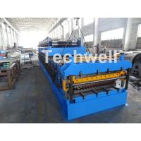 Cheap IBR / Corrugated Sheets Dual Level Cold Roll Forming Machine With 5 Ton Manual Uncoiler for sale