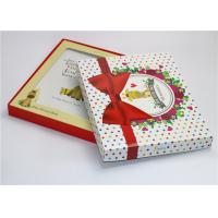Cheap Glossy Lamination Baby Paper Gift Box First Year Memory Book Packaging Box for sale