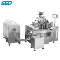 China Weight 500 380V50HZ Experimental Type Fish Oil Soft Gelatin Capsule Filling Machine Made Of SS 316L 300 Million Granules on sale