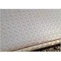 Cheap Q235 SS400 A36 Anti Slip Carbon Steel Chequered Plate with  Hot Rolled Craft wholesale