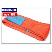 Cheap Anti Abrasion Polyester Lifting Slings Heavy Duty Lifting Straps Smooth Surface for sale