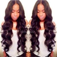 Cheap No Chemical 100% Brazilian Human Hair Extensions Wet And Wavy Weave for sale