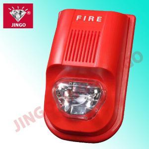 China Addressable firefighting alarm systems 24V strobe horn,flash light with sounder on sale