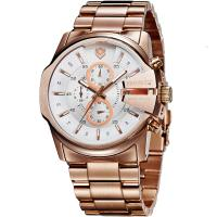 Cheap Brand Sports Watches 5 ATM Water Resistant Men Full Steel Watch MIYOTA Analog Quartz Watch for sale