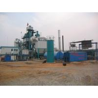 710m 2 Filtering Area Air Back Flushing Type Bitumen Hot Mix Plant With WAM Screw Conveyor