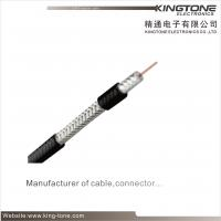 Quad - Shield RG6 CATV Coaxial Cable Jelly PE for Direct Burial