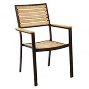 Cheap Ergonomic Aluminum Dining Room Chair for sale
