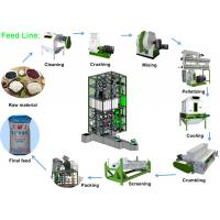 China Capacity 3 - 5 Ton/H Feed Pellet Production Line Chicken Feed Making Machine on sale