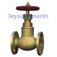 Cheap 5K/16K Marine Bronze Flanged Globe Stop Valves for sale