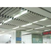 Cheap Fashion Aluminium Baffle Ceiling J shaped Plug-in Blade Ceiling  for Airport, Metro wholesale