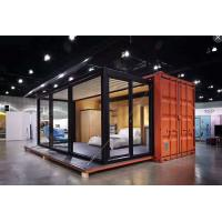 Cheap Prefab Shipping Container Homes , Storage Container Houses Steel Structure for sale