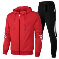 China Best Quality China Manufacturer Sports Cotton Sublimation Tracksuit on sale