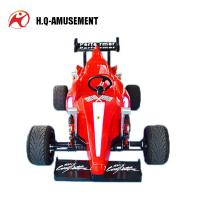 Cheap 2018 kids rides interesting fiberglas F1 racing car amusement ride f1 racing go karts for sale for sale