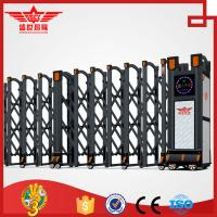 China Aluminum power back and silver telescopic gates for company entrance door gate -L1523 on sale