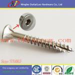 Cheap Type 17 Stainless Steel Hexagon Socket Bugle Head Batten Screws for sale