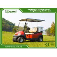 Buy cheap Small 48V Double Seater Electric Golf Car With 3.7KM AC Motor from wholesalers
