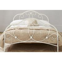 China Attractive metal frame bed with sturdy metal structure, color customizd on sale
