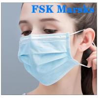 Cheap Medical Non Woven Face Mask Protection Against Virus With Melt Blown Cloth for sale