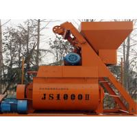 Cheap Electric Motor Double Shaft Concrete Mixing Equipment  1000L For Industrial  Concrete Projects for sale