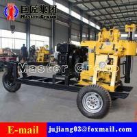 Cheap XYX-130 Wheel Type Hydraulic water well drilling machine rotary drilling rig /small bore well drilling machine for sale