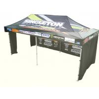 Cheap Instant Party / Trade Show / Event aluminium pop up gazebo with 3 walls , Heat Transfer Printing wholesale