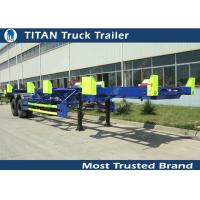 Cheap 70 Tons container trailer chassis , 45ft 2 axles 50 tons yard terminal trailer for sale