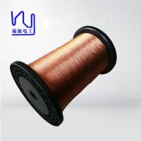 Cheap High Voltage Copper Flat Litz Wire Colored Covered 0.03-0.8mm Size for sale