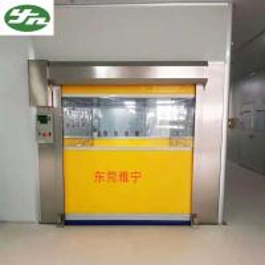 Cheap C Fast Shutter Roller Door Cargo Stainless Steel Air Shower Cargo Pass Box for sale